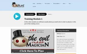 the evil reddit magician review