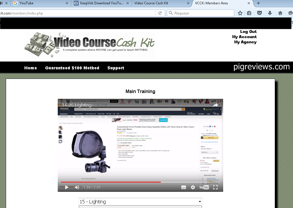 video course cash kit review